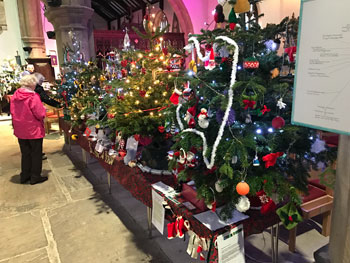 Otley Christmas Tree Festival 2019 - Day 1
