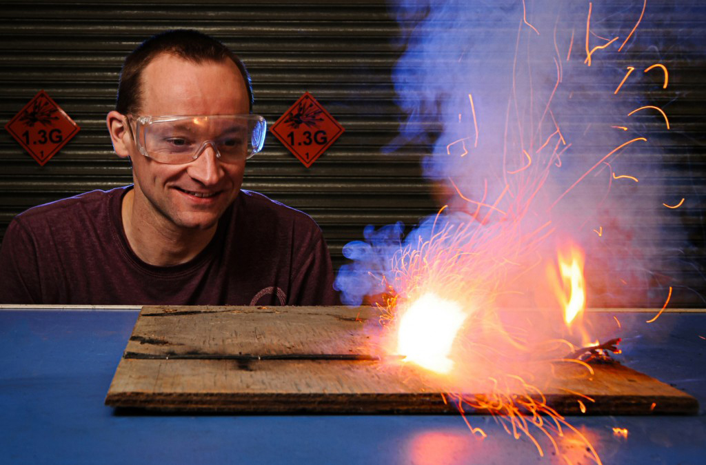 Matthew Tosh: Fireworks: real science or just bangs? @ Otley Courthouse   England   United Kingdom