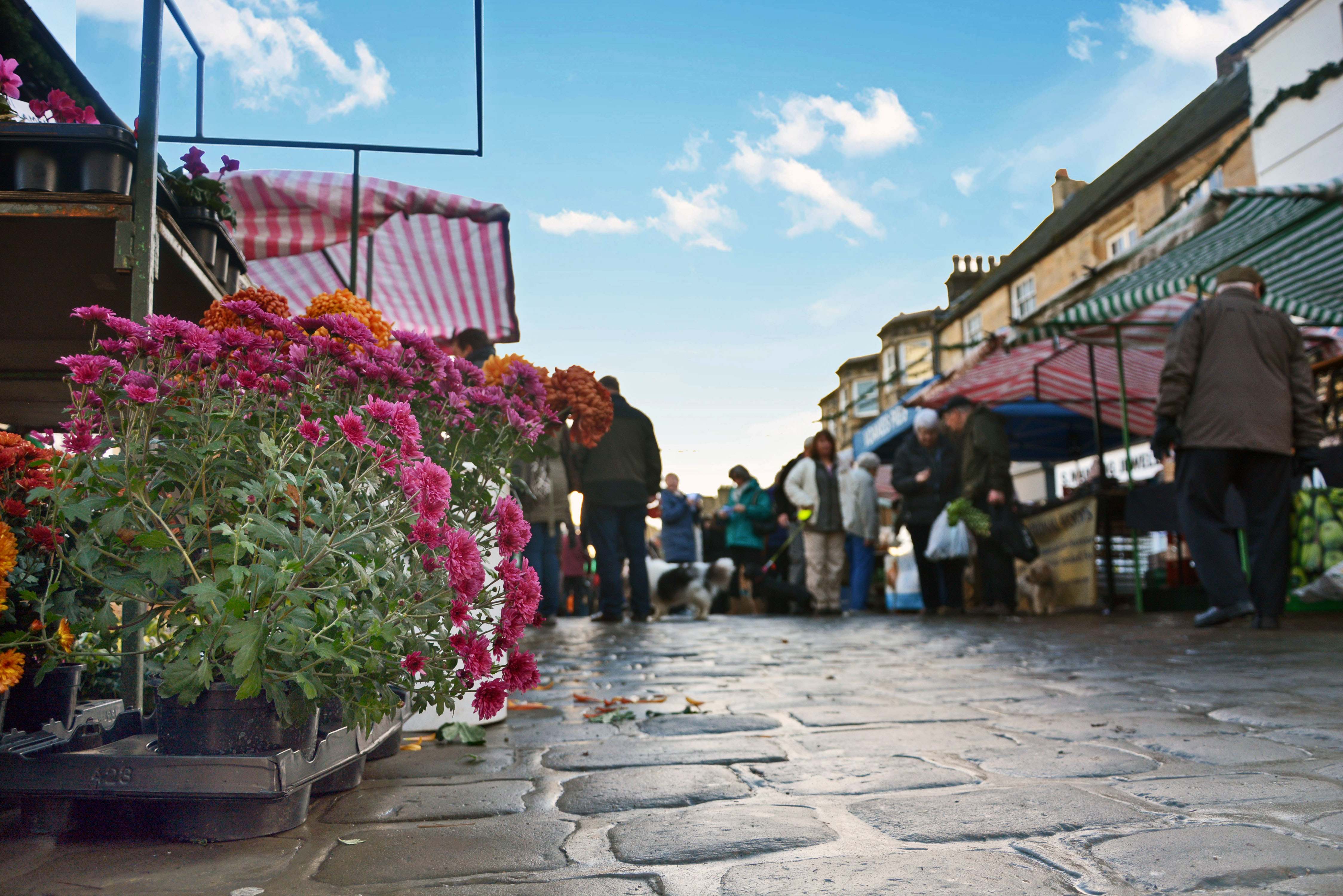 Otley Farmers' Market - April @ Market Place, Otley