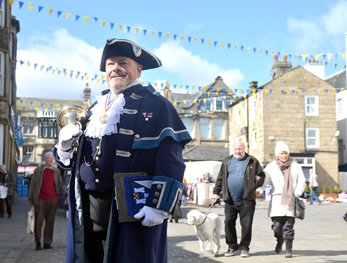 Yorkshire Day proclamation @ Otley Maypole