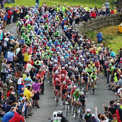 Crowds at Tour de France